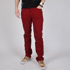 Levi-039-s-514-Straight-fit-Rot-Herren-Jeans-29-30-W29-L30