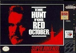 The-Hunt-for-Red-October-Super-Nintendo-Entertainment-System-1993-CART-ONLY