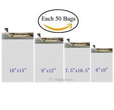 200 Poly Envelope Bags 4 Sizes Self Sealing Shipping Mailer St Shipmailers