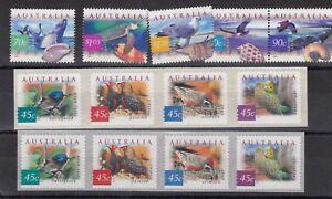Australia-1999-2001-Nautical-Birds-Sets-Mint-MNH-X9179