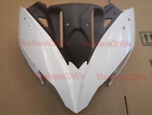 ZXMT Upper Front Fairing Cowl Nose Motorcycle Fairings for Kawasaki Ninja 650 EX650 ER6F 2012-2016