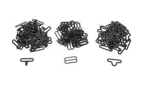 Black-Bow-Tie-Clip-Hardware-Cravat-Clips-Hook-Fastener-For-Necktie-Strap