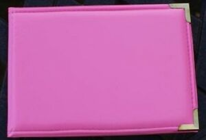 Bright-Hot-Pink-6-034-x4-034-Pocket-Photo-Album-Hold-36-Photos