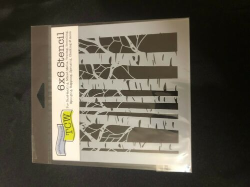 TCW CRAFTERS WORKSHOP 6 x 6 STENCIL  MANY DESIGNS /& DESIGNER TO CHOOSE FROM