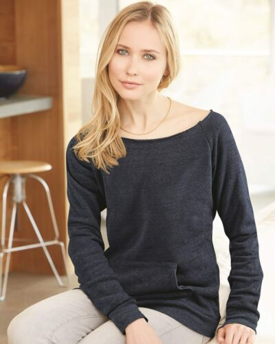 Alternative Apparel Ladies Maniac Eco Fleece Sweatshirt with Pocket 9582 S-2XL