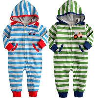 """NWT Vaenait Baby Newborn Toddler Girl Boy Hoodie One-Piece Outwear """"Best Driver"""""""