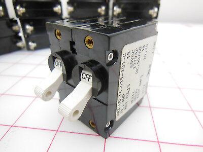 Carlingswitch Magnetic Circuit Breaker 2-Pole 30 Amp 277 VAC BA2-BO-34-630-111-C