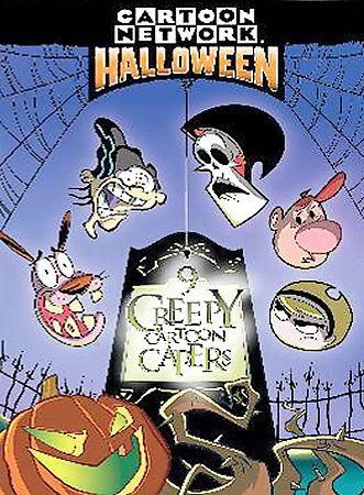 Cartoon Network Halloween 9 Creepy Cartoon Capers Dvd 2004 For