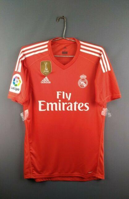 brand new 7d026 91a39 Real Madrid Jersey XS 2018 Goalkeeper Shirt Adizero B31084 Soccer adidas