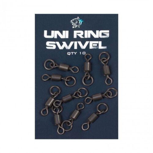 Nash TT Uni Ring Swivels T8083 Carp Fishing