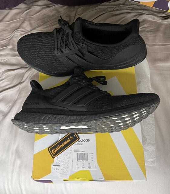 Size 11.5 - adidas UltraBoost 3.0 Limited Triple Black 2.0 2017