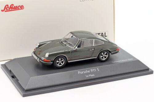 1971 Porsche 911 S Steve McQueen MovieCar Film Le Mans grau 1:43 Schuco
