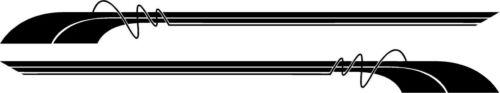 MOTORHOME//CARAVAN VINYL GRAPHICS DECALS STICKERS STRIPES CHOICE OF COLOURS #86S