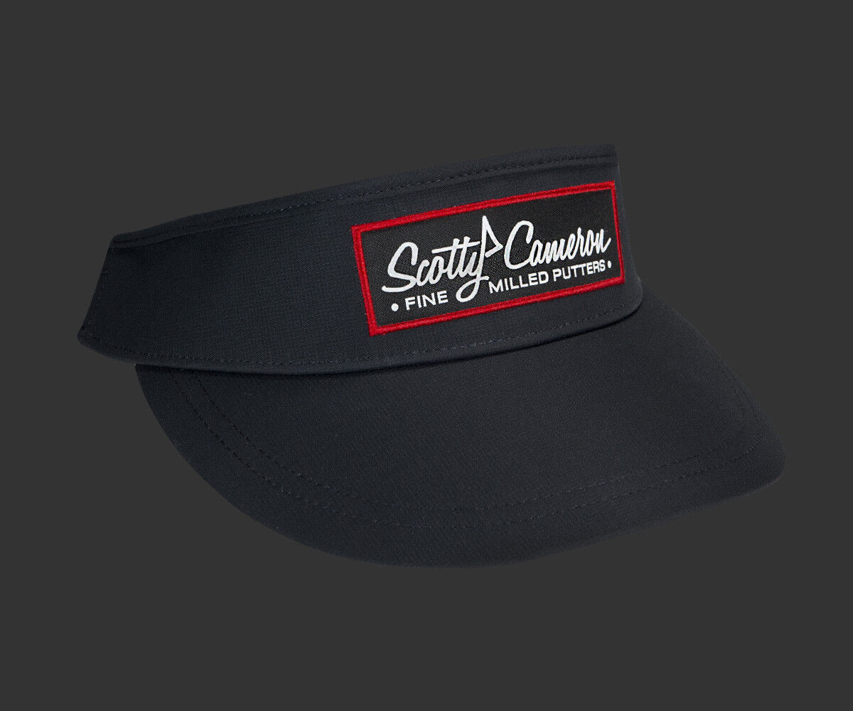 2018 Scotty Cameron Woven Pinflag Tour High Crown Visor Navy Imperial