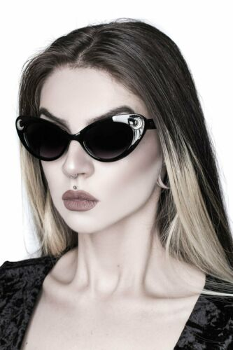 Killstar Gothic Goth Okkult Sonnenbrille Cosmic Shade Schwarz