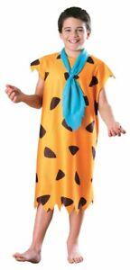 Child-Flinstones-Fred-Flinstone-Halloween-Costume-Size-Medium-5-7-Year-Old