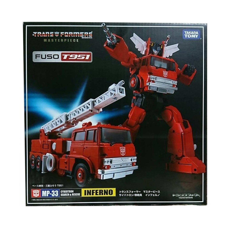 para mayoristas Transformers Masterpiece mp-33 mp33 mp33 mp33 Inferno Autobots Acción Figura Best regalo  mejor marca