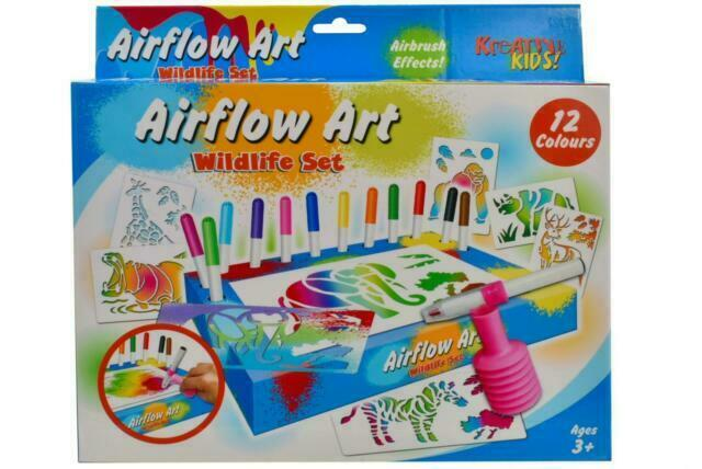 52 Pieces Kids Boys Children Craft Art Pens Pencils Gift Toys Drawing Set Game