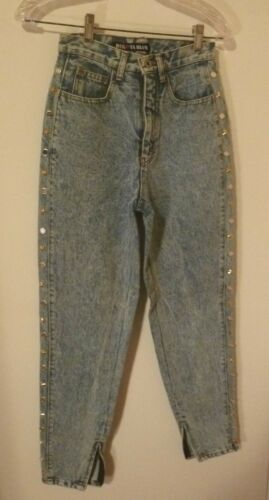borchie 24w New Leg con Denim X Blue 5 Dakota 28l Jean Pants Taglia Tapered UIUPw