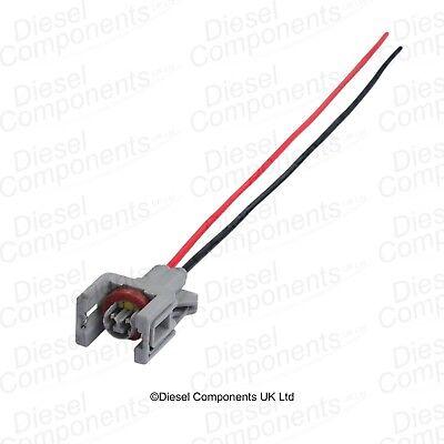 Diesel Injector Connector Plug 2 Way Female Housing for Renault Delphi Injectors