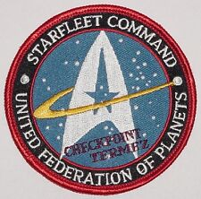Bundeswehr Aufnäher Patch ISAF Termez United Federation of Planets .......A3029K