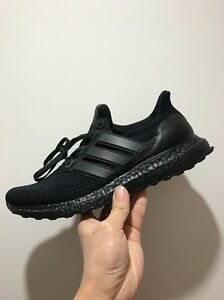 fa312adc875 Adidas Ultra Boost 3.0 Triple Black PrimeKnit BA8920 UK8 US8.5 EU42 ...