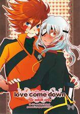 Inazuma Eleven YAOI Doujinshi Dojinshi Genda Koujirou x Sakuma Jirou love come d
