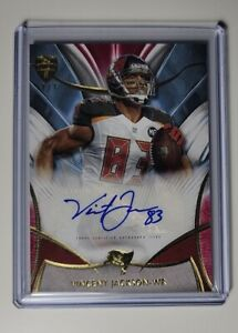 2014 Topps Supreme RED GOLD Vincent Jackson Auto 1/1 TAMPA BAY Buccaneers SP SSP