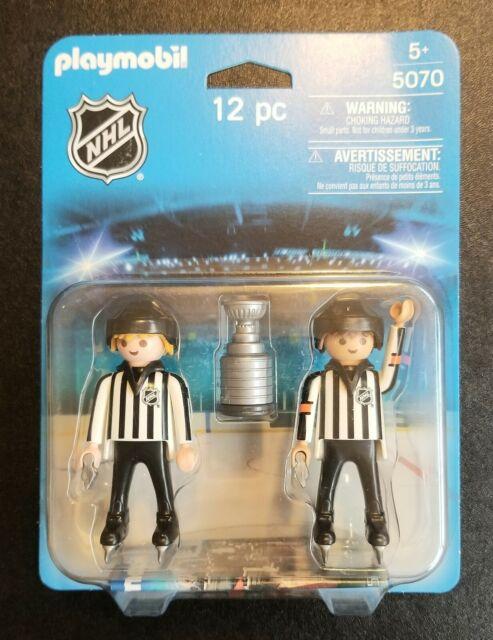 Playmobil 5070 NHL Hockey Referees NEW NIB