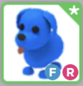 Pages With Roblox Adopt Me Blue Dog Fr Fly Ride Legendary Pet Adopt Me Ebay