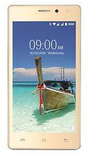 Lava A82 ( 8GB Gold )1GB RAM Quad Core 8GB ROM Lollipop 5.1  3G  GPS