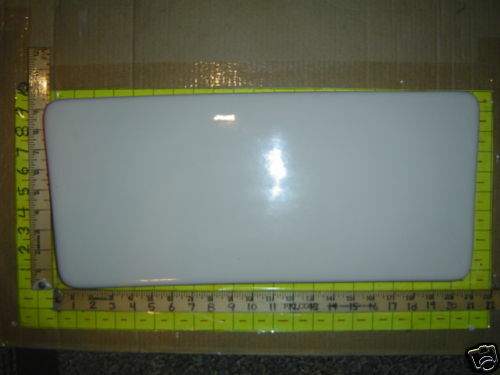 NO FLAWS 2004 American Standard 2004 F2004 toilet ONE PIECE tank lid cover WHITE