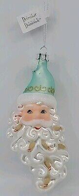 December Diamonds Spiral Seashell Glass Christmas Ornament Decoration79-80914