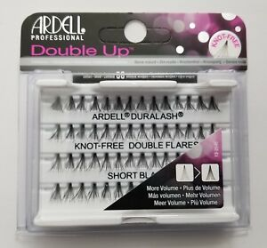 Lot-of-10-Ardell-Duralash-knot-free-Doble-Up-REFLEJOS-Corto-Individual