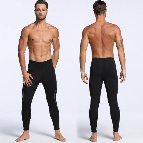 Men 2mm Neoprene Diving Long Pants Snorkeling Scuba Swimming Surfing Wetsuit