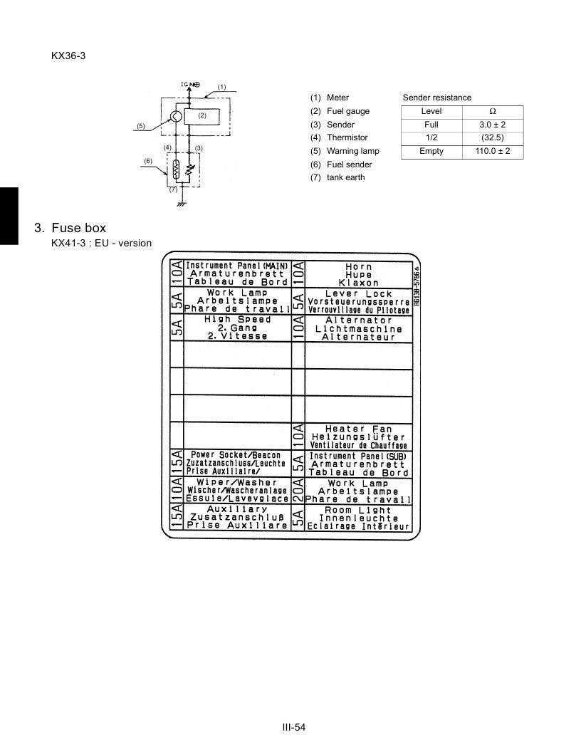Kubota Kx36-3 Kx41-3s Kx41-3v Mechanism Chapter Workshop Service Manual