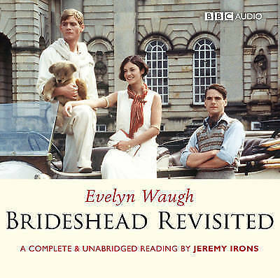 Brideshead Revisited BBC 10 CD Audiobook Unabridged Evelyn Waugh Jeremy Irons