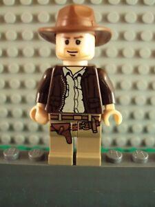 Lego Minifig ~ Indiana Jones ~ #zx45