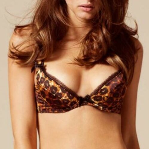 Sexy Set Taglie e Agente Leopard All Felinda Bnwt Provocateur Brief Big Bra HqXaAq