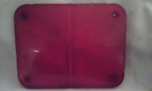 WHELEN  97 PREOWNED SERIES 01-0481349 RED REPLACEMENT  LENS