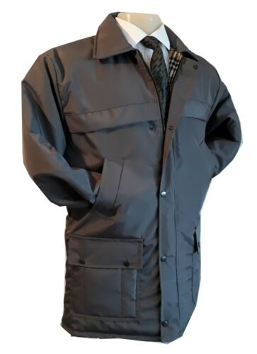 Mens Warm Quilted Jacket Casual Smart Casual Wear Coat Formal  M L XL 2XL