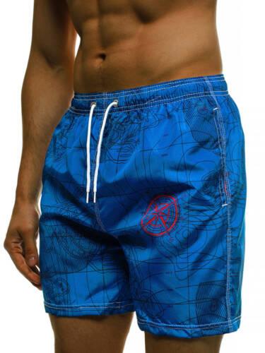 Badeshorts Schwimm Kurze Hosen Jogging Badehose Sport Bermuda OZONEE Herren