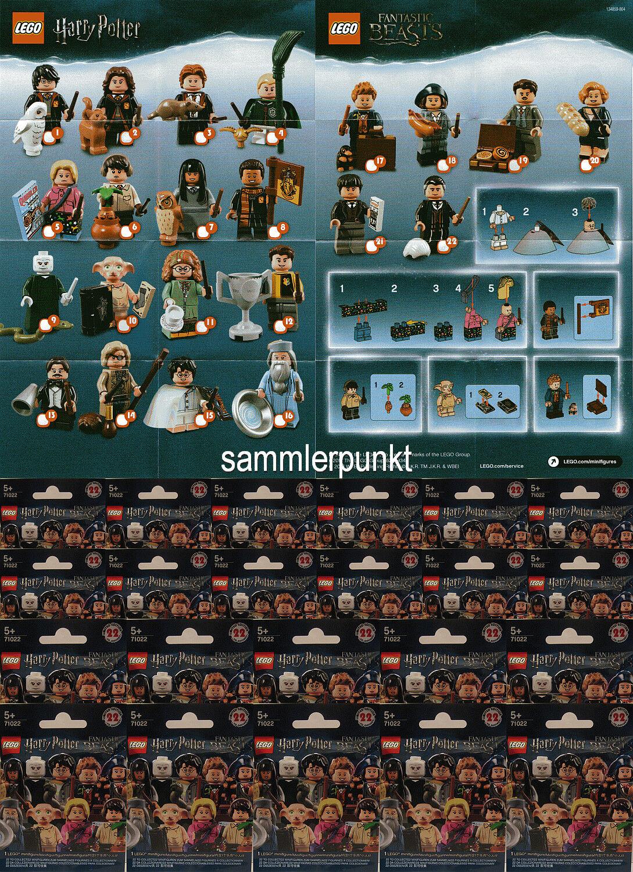 LEGO® MINIFIGUREN SATZ HARRY POTTER & FANTAS.BEASTS -OVP- + 22 BPZ - LEGO  71022