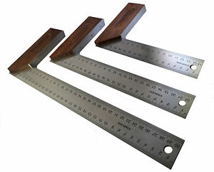 """6 """", 9"""" ou 12 """"hardwood essayer Équerre-Outil Bois Travail du Bois Charpentier"""