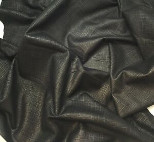 """0.5 oz Italian Lambsuede Leather Skin Hide /""""Paper Thin/"""" Suede Black  1 Sq.Ft"""