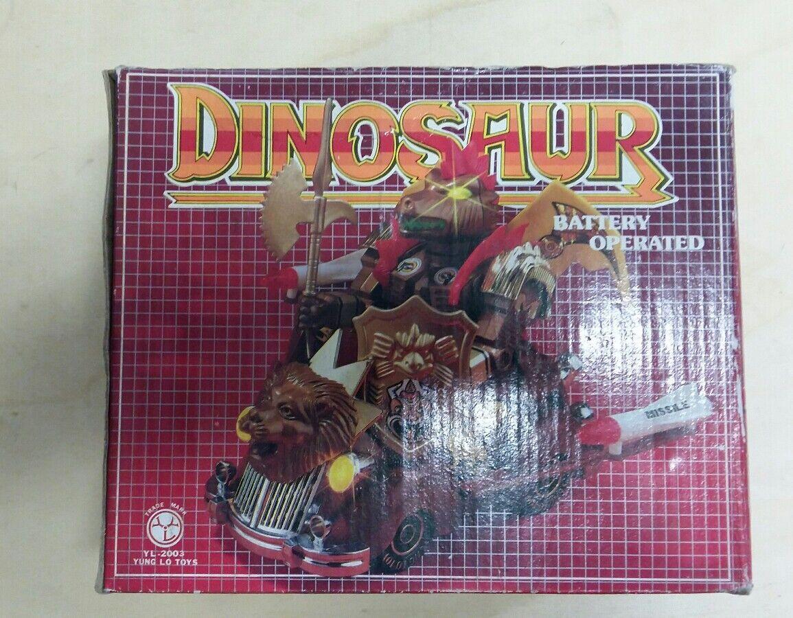 Robot Vintage Dinosaur Battery Opereted