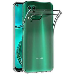 Handy-Case-fuer-Huawei-P40-Lite-Huelle-Transparent-Schutz-Tasche-Handyhuelle-Cover