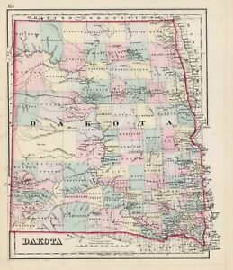 1876-Gray-039-s-034-DAKOTA-034-Territory