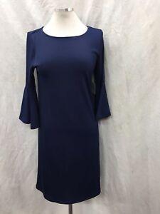 Einzelhandel Kasper M Größe Kleid Stretch Stoff Etikett Mit marineblau wzgOXzqx