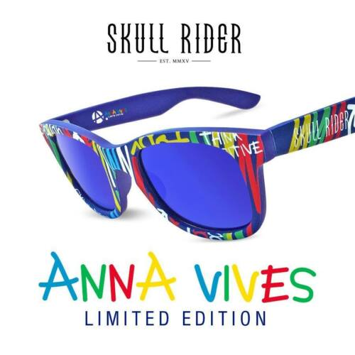 ANNA VIVES by JL99. Polarisierten Sonnenbrillen Skullrider